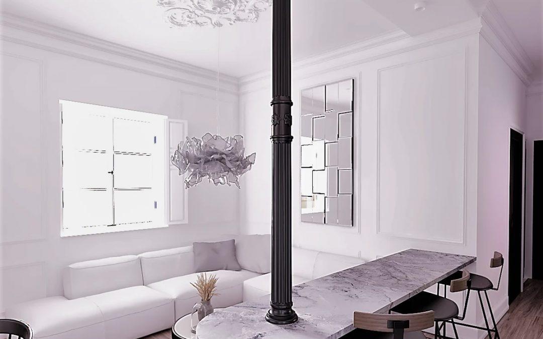 Un proyecto de interiorismo con mucho estilo